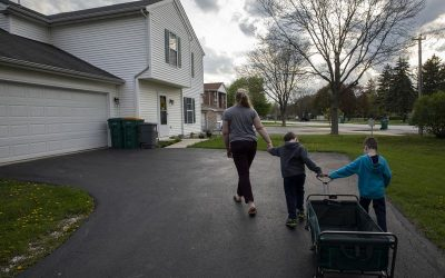 Affordable housing in thriving Naperville is elusive. This mother of twins knows all too well.